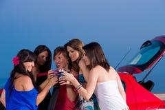 партия девушок Стоковые Фото