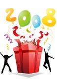 партия 2008 подарка Стоковые Изображения