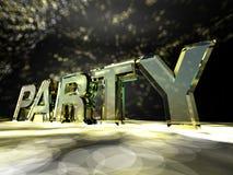 партия Стоковая Фотография