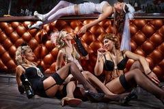Партия Bachelorette Стоковые Фотографии RF
