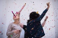 Партия Confetti стоковое фото