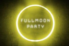 Партия Fullmoon Стоковые Изображения RF