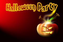партия halloween предпосылки Стоковое Изображение RF