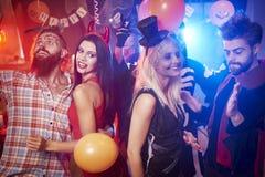 Партия Halloween Стоковое Изображение
