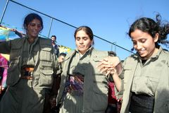 Партия Newroz Стоковое Изображение RF