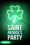 Партия ` s St. Patrick Стоковое Изображение