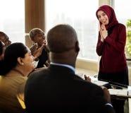 Партнерство международной конференции людей разнообразия Стоковые Изображения RF