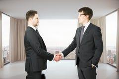 партнерство рук принципиальной схемы различное соединяет головоломку 2 Стоковые Изображения RF