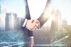 партнерство рук принципиальной схемы различное соединяет головоломку 2 Стоковое Фото