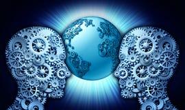 Партнерство технологии Стоковое Изображение
