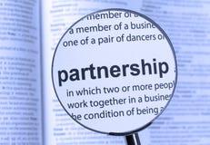 партнерство Стоковое фото RF