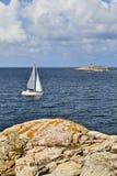 парусники архипелага стоковые изображения