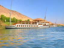парусники реки Нила Стоковая Фотография