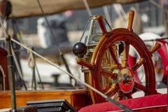 Парусник в гавани St Tropez стоковая фотография rf
