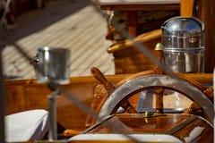 Парусник в гавани St Tropez стоковые фото