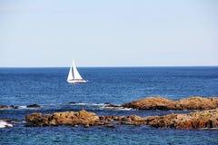 Парусник на море Стоковые Изображения