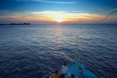Парусник на острове Пхукета, similan острове Стоковая Фотография