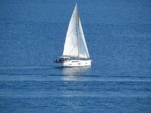 Парусник резца в открытом море Стоковая Фотография RF