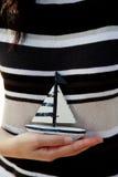 парусник руки стоковая фотография rf