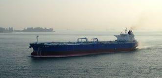 Парусные судна в проливе Малаккы Стоковые Фото
