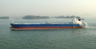 Парусные судна в проливе Малаккы Стоковое Изображение RF