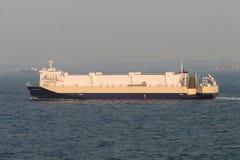 Парусные судна в проливе Малаккы Стоковая Фотография