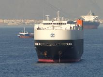 Парусные судна в проливе Малаккы Стоковое Изображение