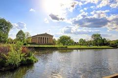 Парфенон в Нашвилле, Теннесси Стоковое Изображение RF
