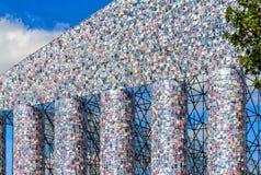 Парфенон книг, documenta 14 - висок искусства на Friedrichsplatz в Касселе, Германии Стоковая Фотография RF