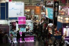парфюмерия international выставки i косметик Стоковое Фото