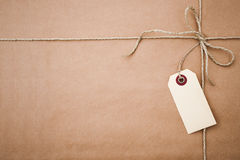 парцелла коричневой бумаги Стоковая Фотография RF