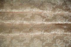 Парча ткани, цвета персик Стоковое Фото
