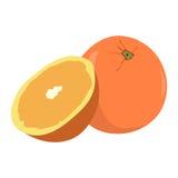 Пары апельсинов Стоковое фото RF