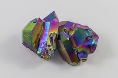 Пары ауры радуги Titanium Стоковое Изображение