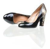 Пары ботинок женщин способа Стоковое Изображение RF