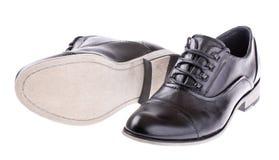 Пары ботинок классицистических людей Стоковое фото RF