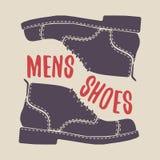 Пары ботинок людей Покройте кожей обувь Стоковое Фото