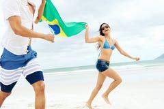 Пары Бразилии латиноамериканца Стоковые Фотографии RF