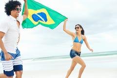 Пары Бразилии латиноамериканца Стоковое Изображение