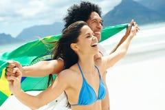 Пары Бразилии латиноамериканца Стоковое фото RF