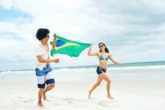 Пары Бразилии латиноамериканца Стоковое Фото