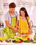 Пары варя на кухне Стоковые Изображения RF