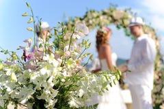 Пары венчания стоковые фотографии rf