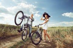 Пары велосипеда Стоковые Фото