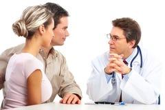 пары врачуют пожилых людей Стоковое фото RF