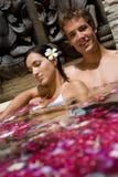 Пары в ванне Стоковые Фото