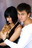 Пары в влюбленности Стоковая Фотография