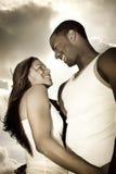 Пары в влюбленности Стоковое Фото