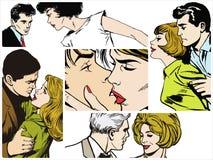 Пары в влюбленности Стоковое фото RF