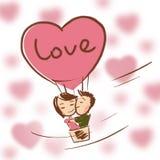 Пары в влюбленности Стоковые Фотографии RF